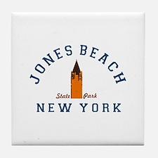 Jones Beach Tile Coaster