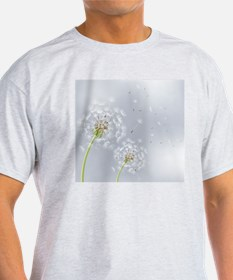 Dandelion Flowers Beautiful Floral N T-Shirt