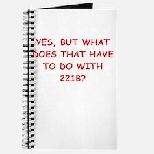 221b joke Journal
