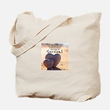 Infant Loss Quote Tote Bag