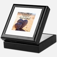 Infant Loss Quote Keepsake Box