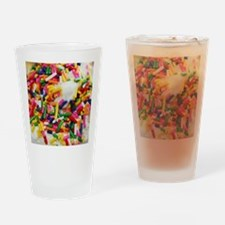 candy sprinkles sweet ice cream des Drinking Glass