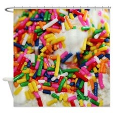 candy sprinkles sweet ice cream des Shower Curtain
