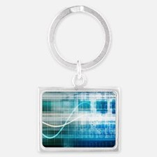 Health Science Landscape Keychain