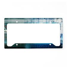 Health Science License Plate Holder