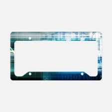 Health Science License Plate Holder