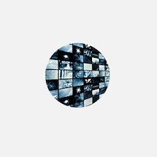 Futuristic Digital Mini Button
