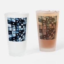 Futuristic Digital Drinking Glass
