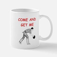 bowling joke Mugs