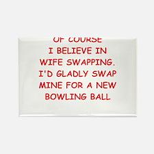 bowling joke Magnets