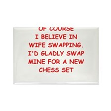 chess joke Magnets