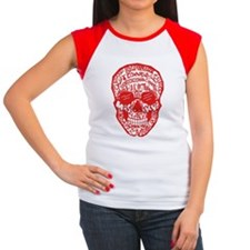 Red Rad Skull Tee