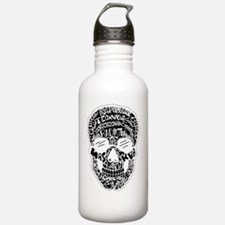 Inverted Rad Skull Water Bottle
