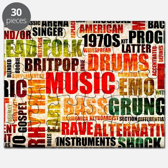 Music Background Genre Puzzle