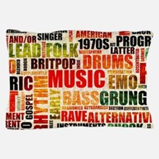 Music Background Genre Pillow Case
