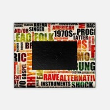 Music Background Genre Picture Frame