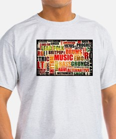Music Background Genre T-Shirt