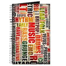 Music Genres Grunge Journal