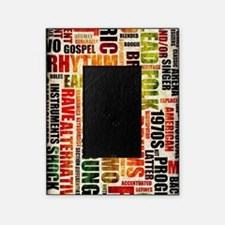 Music Genres Grunge Picture Frame
