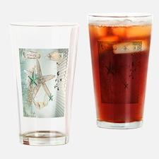Summer Sea Treasures Drinking Glass