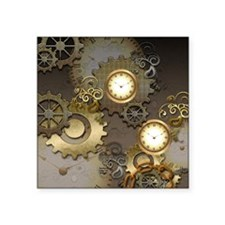 Steampunk, clocks and gears Sticker
