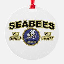 NMCB-27 SEABEES BATTALION Ornament