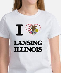 I love Lansing Illinois T-Shirt