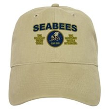 The Difficult We Do Today - Seabees Baseball Cap