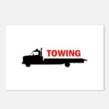 FLATBED TOWING Postcards (Package of 8)