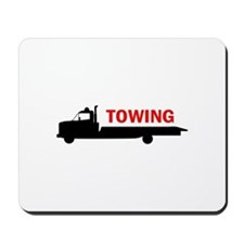 FLATBED TOWING Mousepad