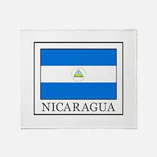 Nicaragua Throw Blanket