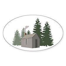 Thoreaus Cabin Decal