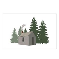 Thoreaus Cabin Postcards (Package of 8)