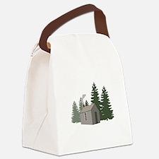 Thoreaus Cabin Canvas Lunch Bag