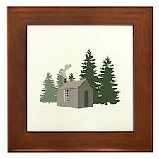 Thoreaus Cabin Framed Tile