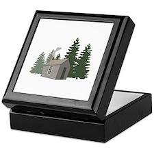 Thoreaus Cabin Keepsake Box