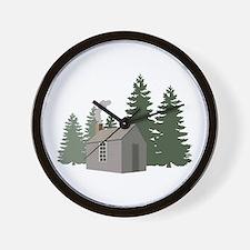 Thoreaus Cabin Wall Clock