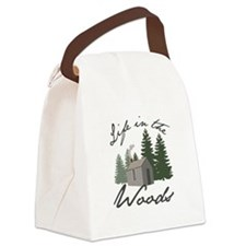 Life in the Woods Canvas Lunch Bag