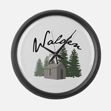 Walden Large Wall Clock