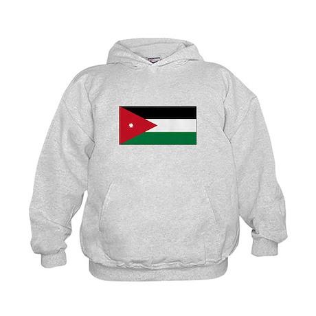 Jordanian Flag Kids Hoodie