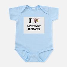 I love Mchenry Illinois Body Suit