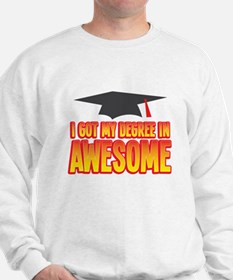 I got my DEGREE in AWESOME! Jumper