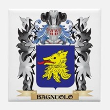 Bagnuolo Coat of Arms - Family Crest Tile Coaster