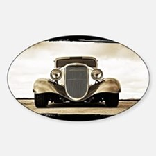 1933 Ford Coupe Sticker (Oval)
