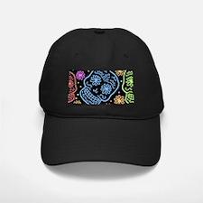 Colorful Sugar Skull Pattern Baseball Hat