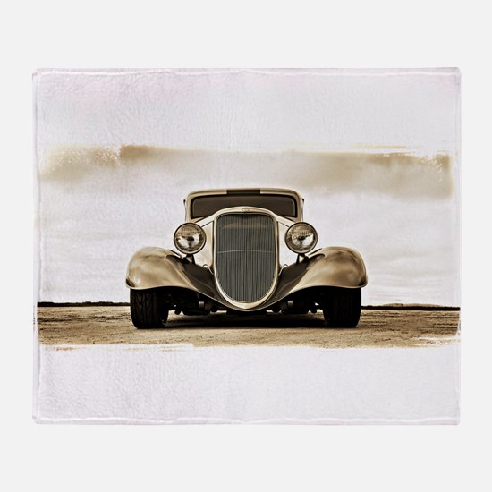 11933 Ford Coupe Throw Blanket