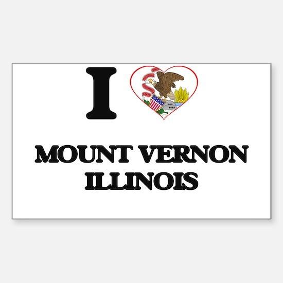 I love Mount Vernon Illinois Decal