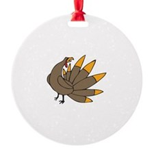 SMALL TURKEY Ornament