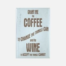 Serenity Wine II Rectangle Magnet (10 pack)