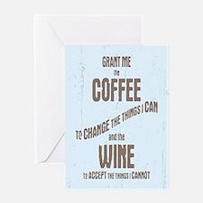 Serenity Wine II Greeting Card